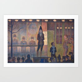 Georges Seurat Parade de Cirque Art Print