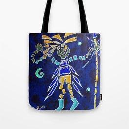 Indian Dance Tote Bag
