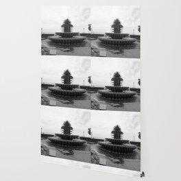 Pineapple Fountain Charleston River Park Wallpaper
