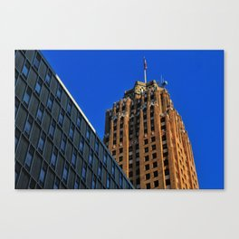 Chasing The Guardian Canvas Print