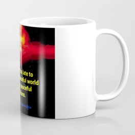 A Peaceful World Coffee Mug