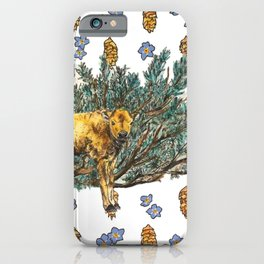 Red Dog and Sage in Lamar Valley iPhone Case