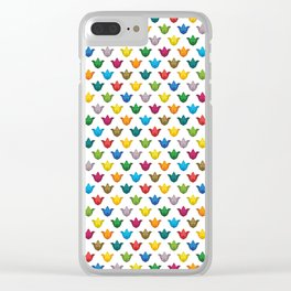 Mardesign pattern Clear iPhone Case