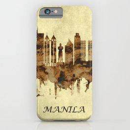 Manila Philippines Cityscape iPhone Case