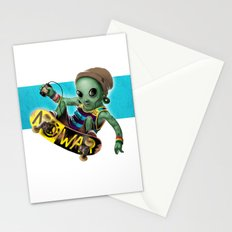 Area 51 Skate Park Stationery Cards