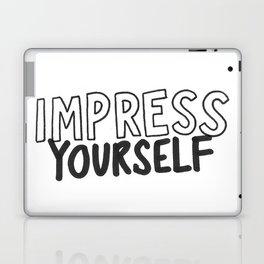 IMPRESS YOURSELF Laptop & iPad Skin