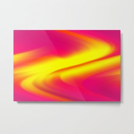 DREAM PATH (Reds, Oranges, Fuchsias, Purples & Yellows) Metal Print