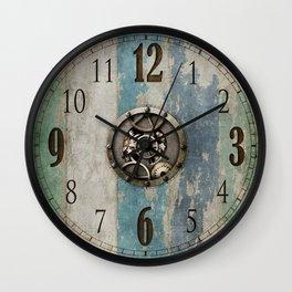 Industrial Steampunk Clockface Wall Clock