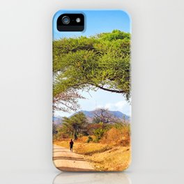 Way through Malawi iPhone Case