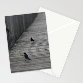 Black Birds Stationery Cards