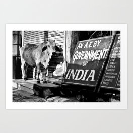 Indian gov. Art Print