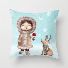 Eskimo Throw Pillow
