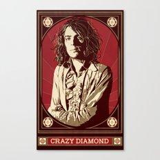 Syd Barrett/Crazy Diamond Canvas Print