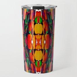 For the World Sugarcane - Alicia Jones - Pattern Travel Mug