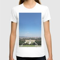 vienna T-shirts featuring Vienna - Cityscape by Andrew Schmidt