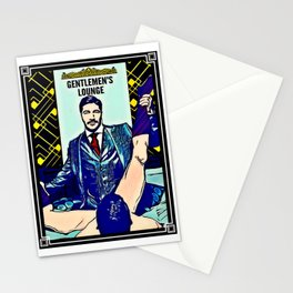 Gentlemen's Lounge Stationery Cards