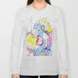 Tropical bird Long Sleeve T-shirt