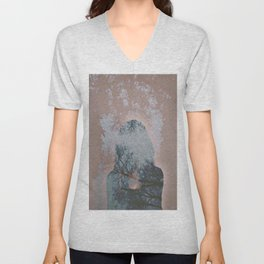 Hiding Behind Unisex V-Neck