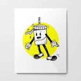 Retro Soda Metal Print