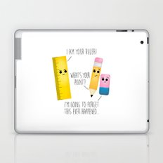 I Am Your Ruler Laptop & iPad Skin