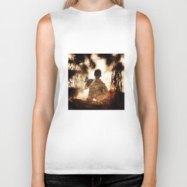 Archaeology in the Shadows Biker Tank