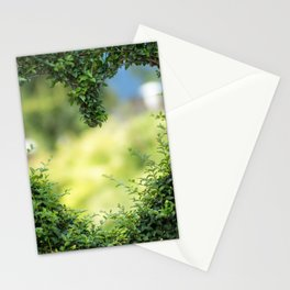 Heart in nature | coeur dans la nature Stationery Cards