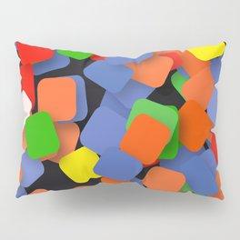 wild color pieces Pillow Sham