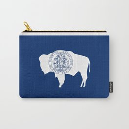 Flag of Wyoming Carry-All Pouch