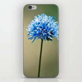 Blue Cotton iPhone Skin