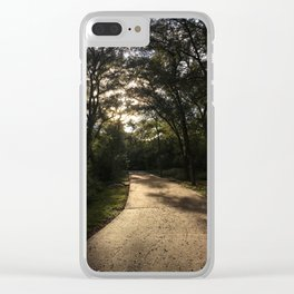 Walkway to Wilderness Clear iPhone Case