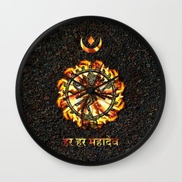 Shiva  Wall Clock