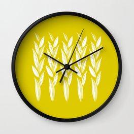 Eternity in Gold Leaf Wall Clock