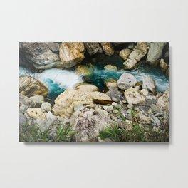 Taroko Gorge River Metal Print