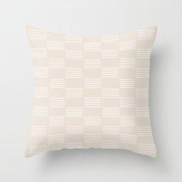 hatches –small white Throw Pillow