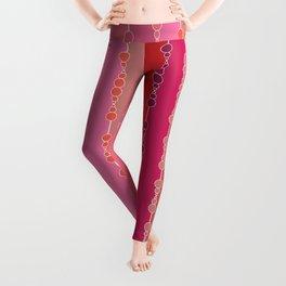 Multi-faceted decorative lines Leggings