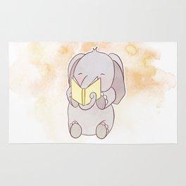ELEPHANT READS Rug
