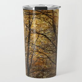 Forest in Autumn time Travel Mug