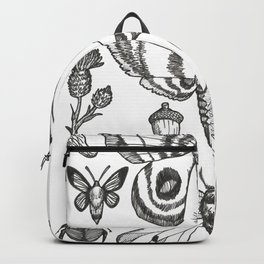 Natural History (Black) Backpack