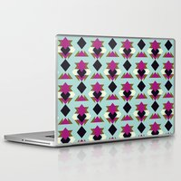 solid Laptop & iPad Skins featuring Nu Solid by Leandro Pita
