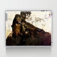 Black idol Laptop & iPad Skin