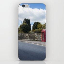 Telephone booth iPhone Skin