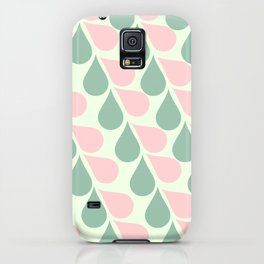 Pink and Teal Tears iPhone Case