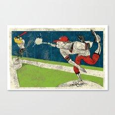 The Spitball Canvas Print