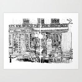 Faubourg du Temple Art Print