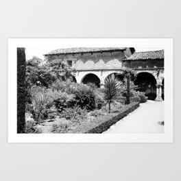 Mission San Juan Capistrano, Serra's Church 1936 Art Print
