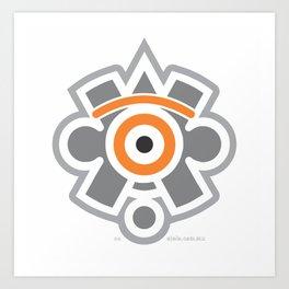 eye of the sun Art Print