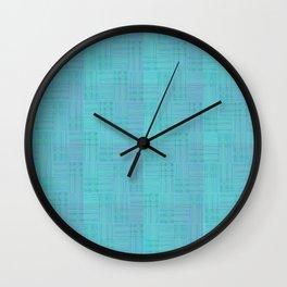 Interpretive Weaving (Scuba Doobie) Wall Clock