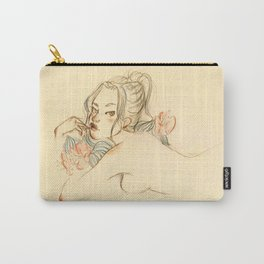 Anna — Friends don't waste wine Carry-All Pouch