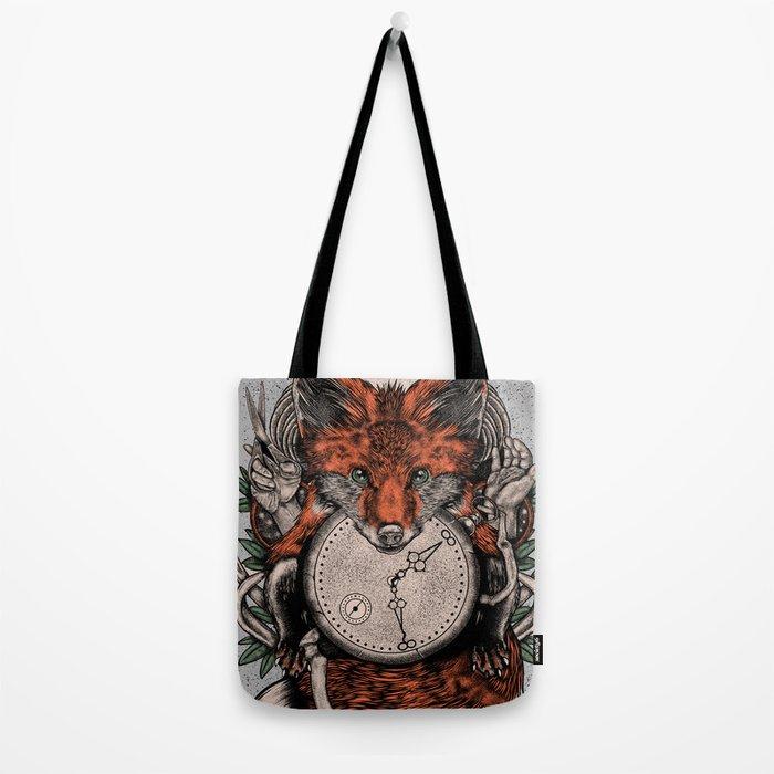 Chaos Fox Tote Bag