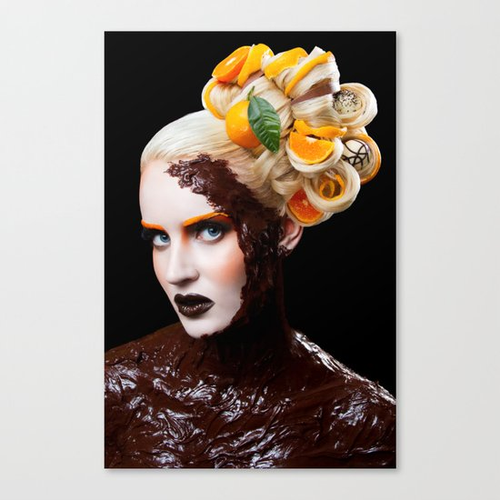 Chocolate Orange Canvas Print